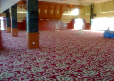 FLAME RETARDANT CARPET FOR KIULAP PLAZA HOTEL