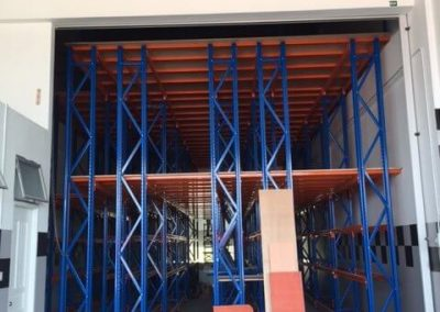 Heavy Duty 2 Levels Mezz Floor Tyre Storage Racking FOR G Type Berakas Industry -05-2015-480x640